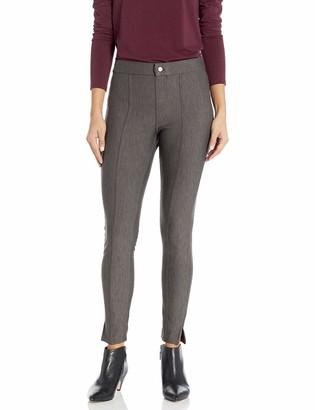 Hue Women's Plus Pintucked Tweed 7/8 Leggings
