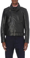 Vivienne Westwood Portrait Leather Biker Jacket