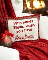 Sudha Pennathur Who needs Santa, when you have Neiman Marcus Pillow