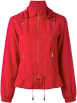 Armani Jeans peplum hem jacket - women - Polyester - 40