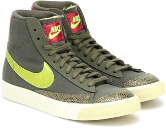 Nike Blazer Mid 77 leather sneakers