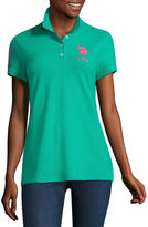 U.S. Polo Assn. Short Sleeve Knit Polo Shirt - Juniors