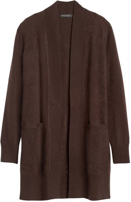 Banana Republic Brushed Cashmere Long Cardigan