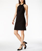Tommy Hilfiger Bow-Detail Halter Dress, Only at Macy's