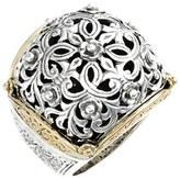 Konstantino Women's 'Silver & Gold Classics' Filigree Ring