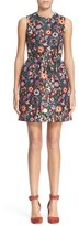 RED Valentino Women's Floral Print Fit & Flare Dress
