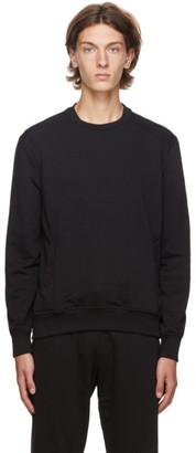 Ermenegildo Zegna Black Basic Chic Sweatshirt