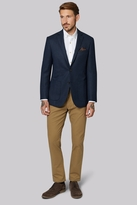 Moss Bros Tailored Fit Navy Soft Plain Jacket