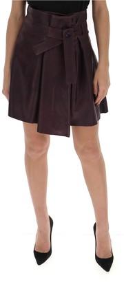 Chloé Belted Mini Skirt