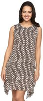MSK Women's Tiered Shift Dress