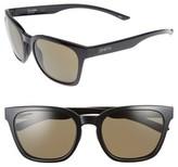 Smith Men's Founder 55Mm Chromapop Polarized Sunglasses - Black/ Gray Green