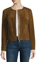 Liz Claiborne Suede Leather Jacket