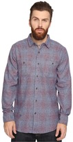 VISSLA Sands Yarn-Dye Plaid Long Sleeve Woven