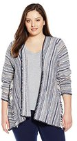 Lucky Brand Women's Plus-Size Pottery Cardigan Sweater