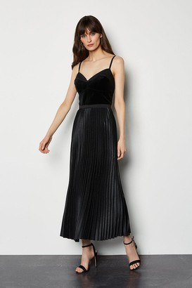 Evening Luxe Pleated Dress