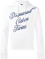 DSQUARED2 Caten Twins hoodie - men - Cotton - S