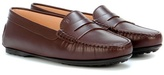 Tod's Leather moccasin loafers