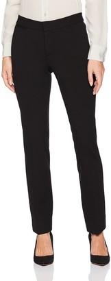 NYDJ Women's Petite Petite Size Ponte Knit Trouser Pants