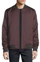 Vince Satin Varsity Jacket