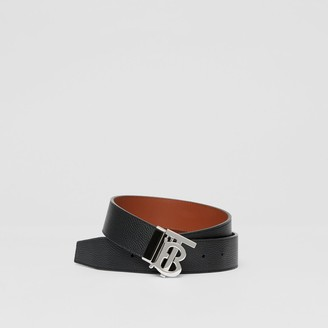 Burberry Reversible Monogram Motif Leather Belt