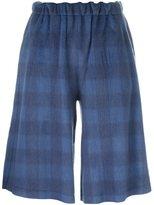 MM6 MAISON MARGIELA plaid short trousers