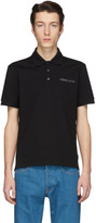 Givenchy Black Tape Logo Polo