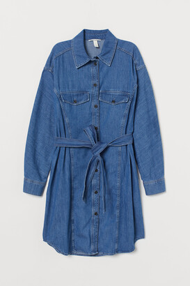 H&M Denim Shirt Dress