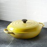 Crate & Barrel Le Creuset ® Signature 3.75-qt. Soleil Everyday Pan