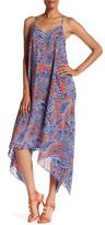 Trina Turk Alverta Paisley Print Silk Midi Dress