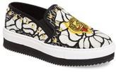 Steve Madden Women's Slick-P Platform Slip-On Sneaker