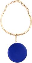 Etro Ceramic-disc necklace