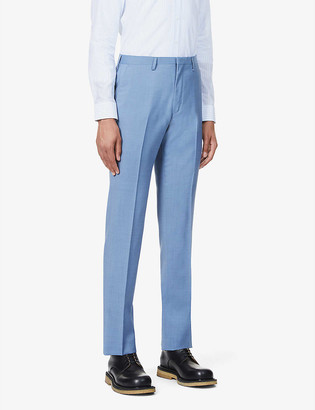 Tiger of Sweden Thodd wool mid-rise straight-cut trousers