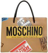 Moschino Cardboard Box Leather Tote Bag