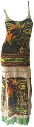 Jean Paul Gaultier Multicolour Synthetic Dresses
