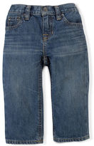 Ralph Lauren Boy Classic-Fit Bank-Wash Denim