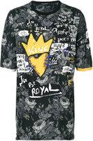 Dolce & Gabbana royal print T-shirt - men - Cotton - 46