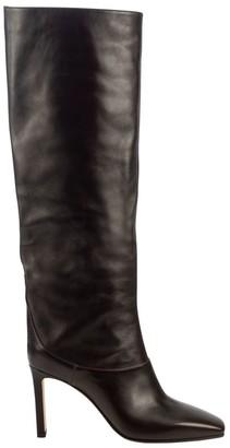 Jimmy Choo Mahesa Tall Leather Boots