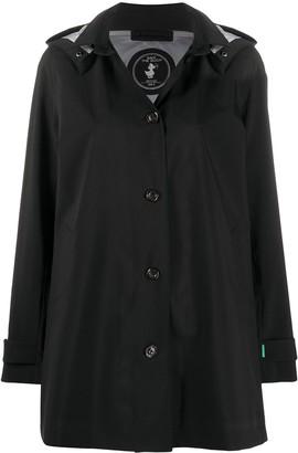Save The Duck Grinx detachable hood raincoat