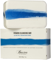 Baxter of California Vitamin Cleansing Bar Flora Cassis 198g White