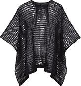 Gareth Pugh Web mohair-blend shawl