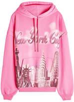 Balenciaga New York Cotton Hoody