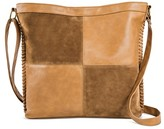 T-Shirt & Jeans Women's Faux Leather Patchwork Crossbody Handbag