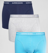 Bjorn Borg 3 Pack Trunks Colour Multi