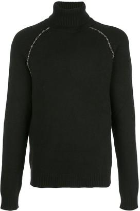 Alanui Rollneck Cashmere Sweater