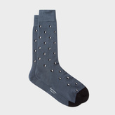 Paul Smith Men's Grey 'Half Heart' Socks