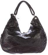 Marni Distressed Leather Hobo