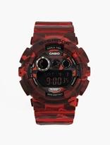 Casio Red Camouflage GD-120CM-4ER Watch