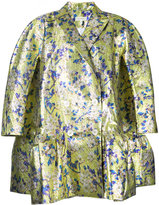 DELPOZO floral loose-fit jacket - women - Polyester/Silk - 38