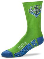 For Bare Feet Adult Seattle Sounders Team Color Crew Socks