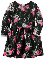 Carter's Floral French Terry Dress